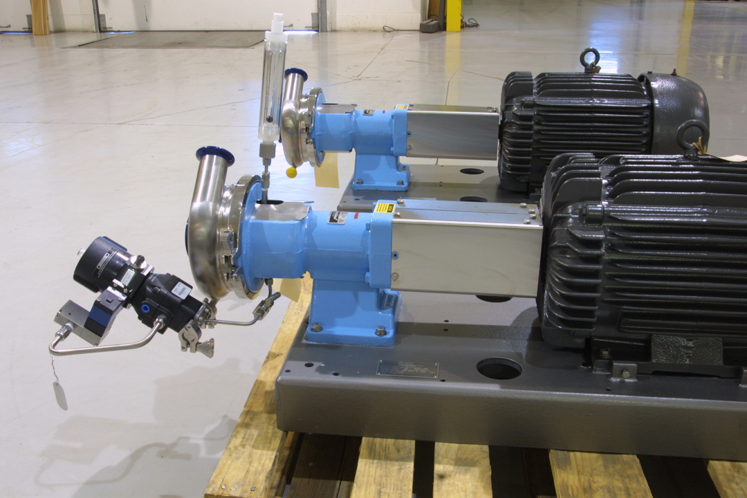 Centrifugal Pumps for WFI with Integral Seal Flush