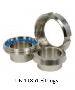 DIN 11851 Fittings