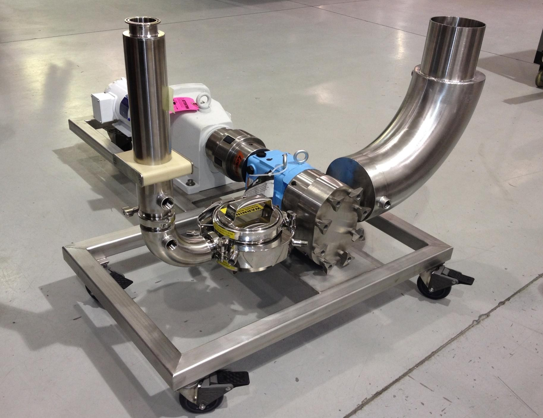 Portable Jacketed Pump Assembly